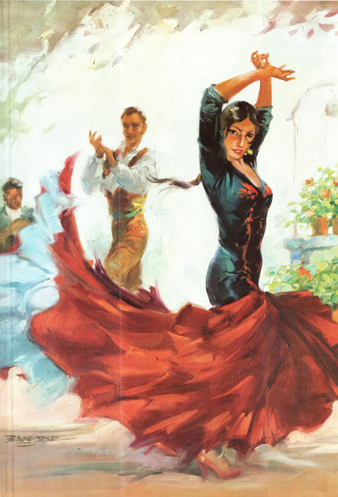 Paintings Reproductions Custom Paintings Flamenco