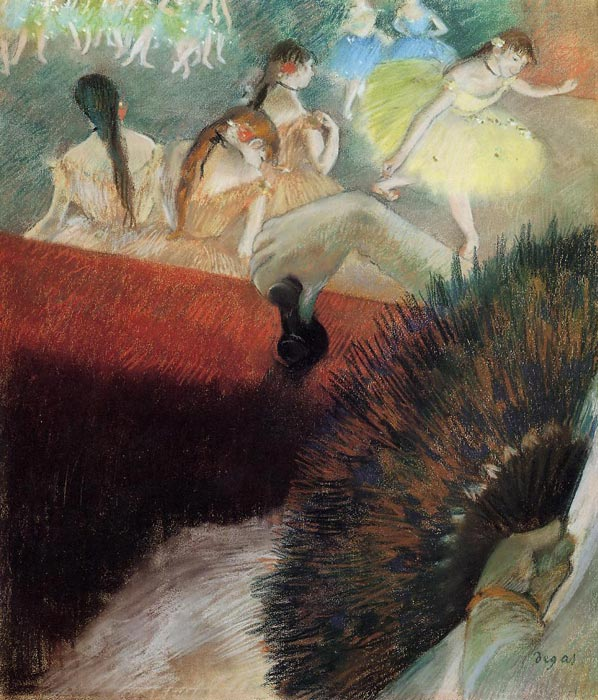 Paintings Reproductions Degas, Edgar At the Ballet, c.1880-1881