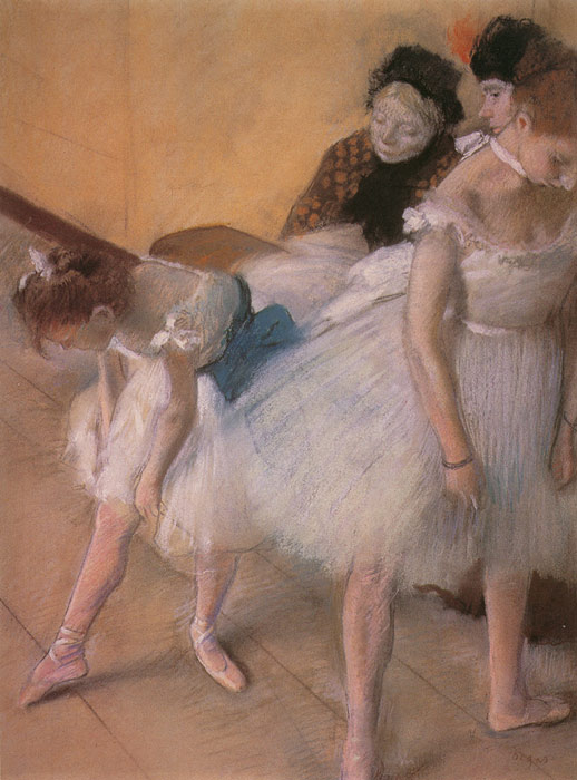 Edgar Degas Reproductions-Before the Rehearsal, c.1880