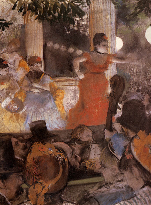 Paintings Reproductions Degas, Edgar Aux Ambassadeurs