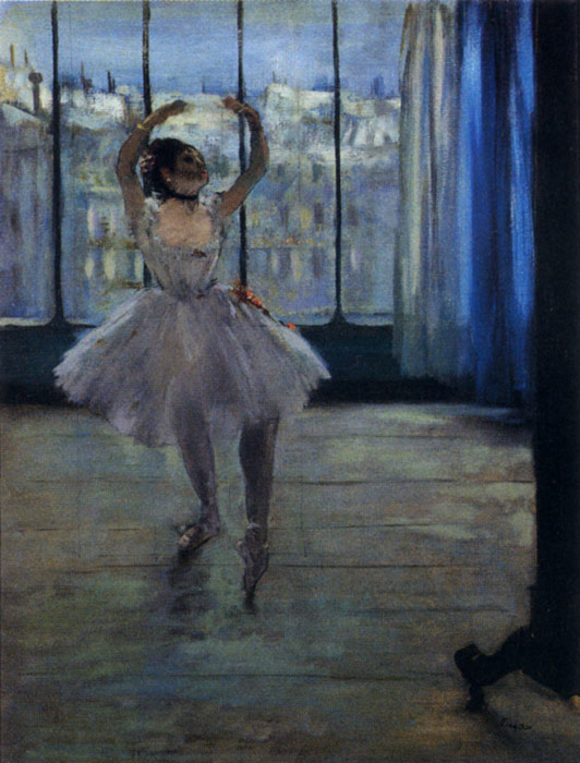 Edgar Degas Reproductions-Dancer At The Photographer's Studio, 1875