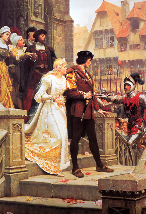 Edmund Blair Leighton  Reproductions-Call to Arms