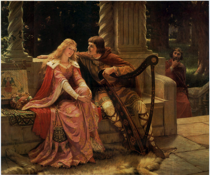 Edmund Blair Leighton  Reproductions-Tristan and Isolde, 1902
