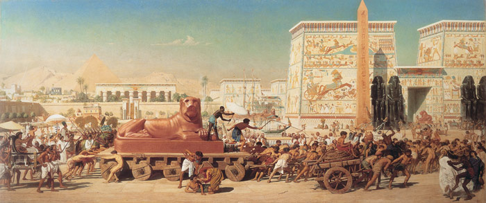 Edward John Poynter Reproductions-Israel in Egypt, 1867