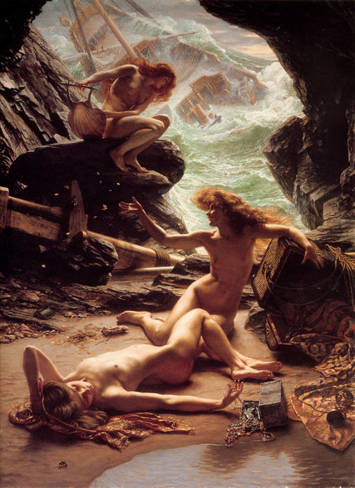 Edward John Poynter Reproductions-The Cave of the Storm Nymphs, 1903