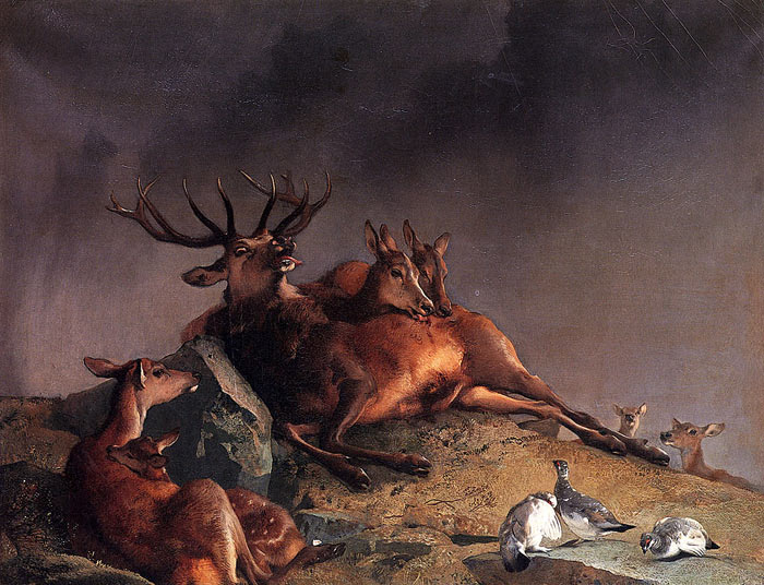 Sir Edwin Henry Landseer Reproductions-The Highland Nurses