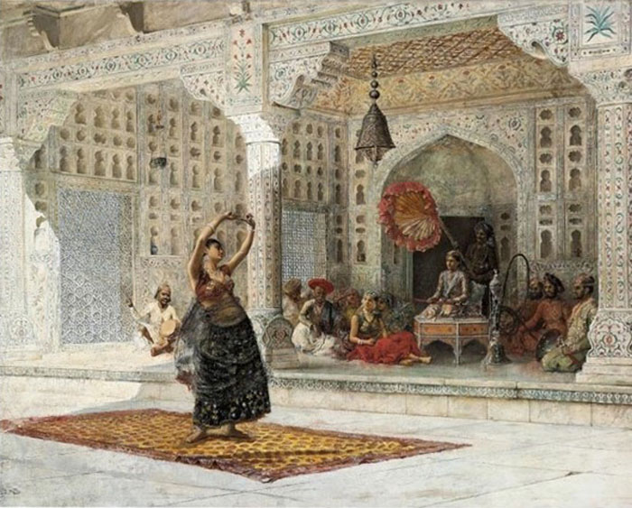 Edwin Lord Weeks Reproductions-The Nautch