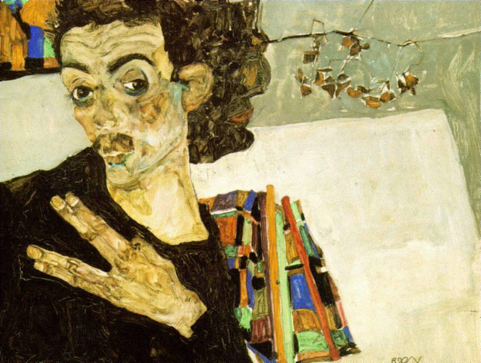 Paintings Egon Schiele