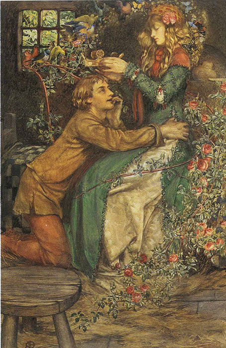 Paintings Reproductions Brickdale, Eleanor Fortescue Natural Magic, 1905