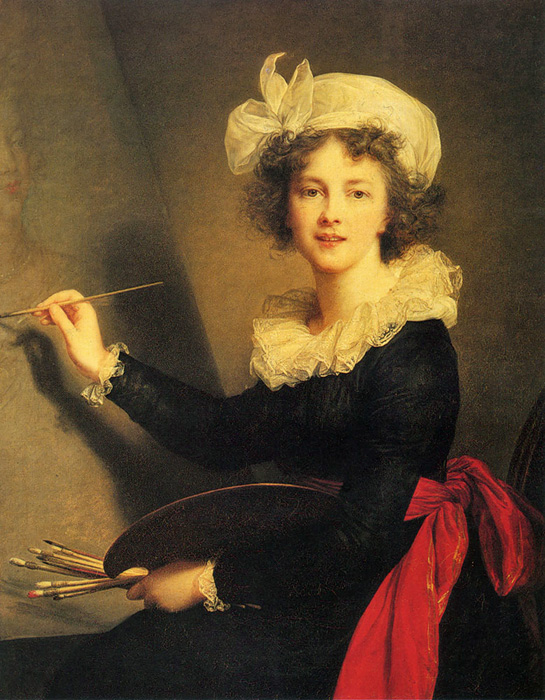 Paintings Louise-Elisabeth Vigee-Lebrun