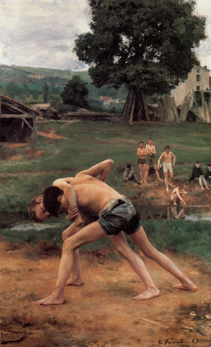 Paintings Emile Friant