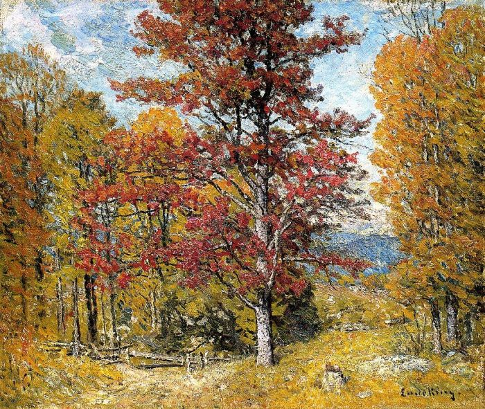 John J Enneking Reproductions-Early Autumn
