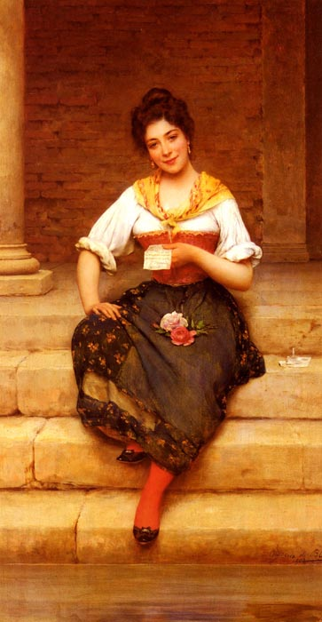 Paintings Eugene de Blaas