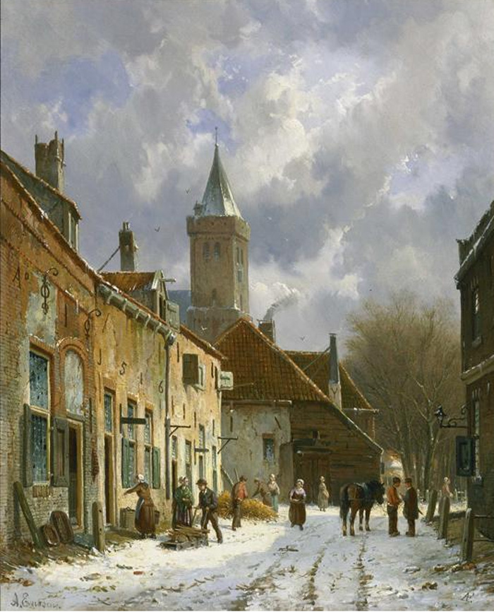 Paintings Adrianus  Eversen