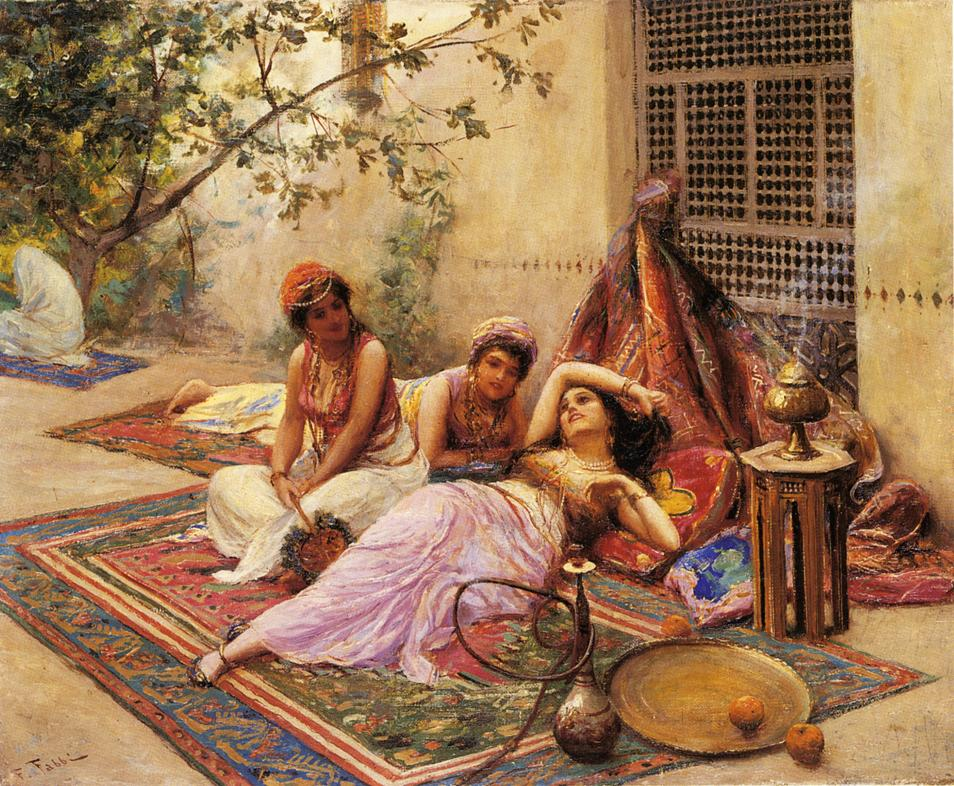 Paintings Reproductions Fabby, Fabio In the Harem