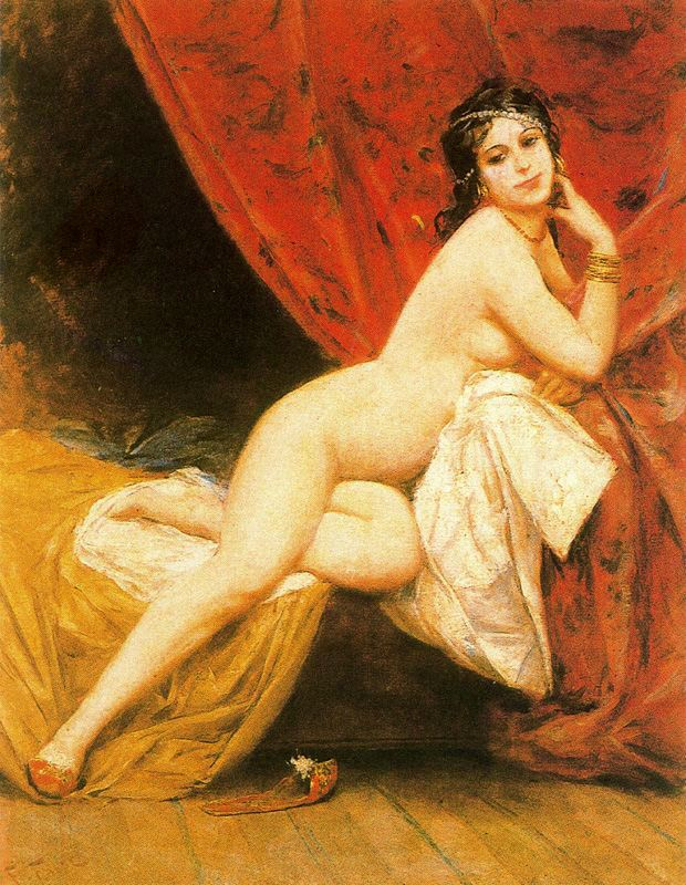 Paintings Reproductions Fabby, Fabio La Favorite du harem