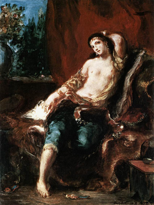 Paintings Ferdinand Victor Eugene Delacroix