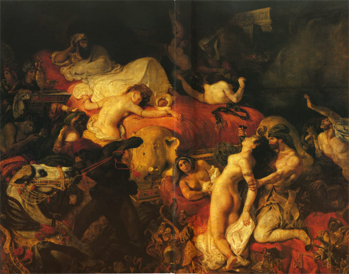 Paintings Delacroix, Ferdinand Victor Eugene