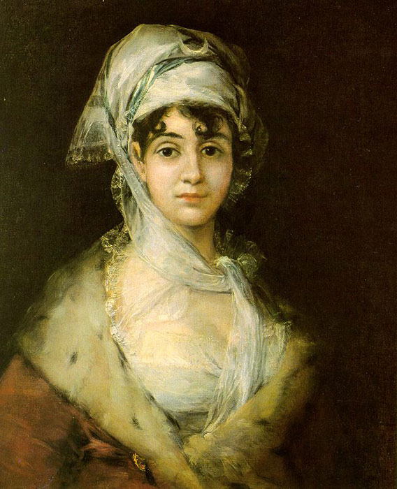 Francisco de Goya  Reproductions-Antonia Zarate, 1811