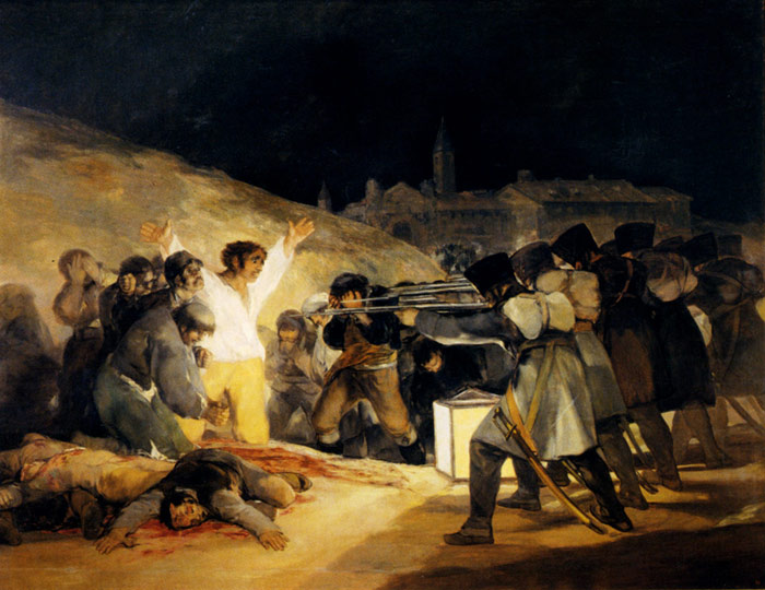 Francisco de Goya  Reproductions-May 3, 1808, 1814