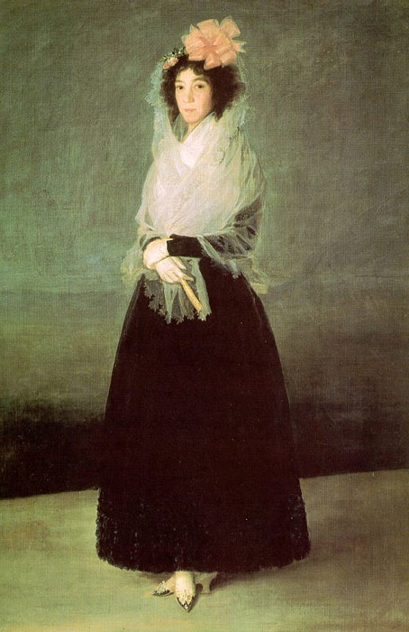 Francisco de Goya  Reproductions-The Countess of El Carpio, c.1792
