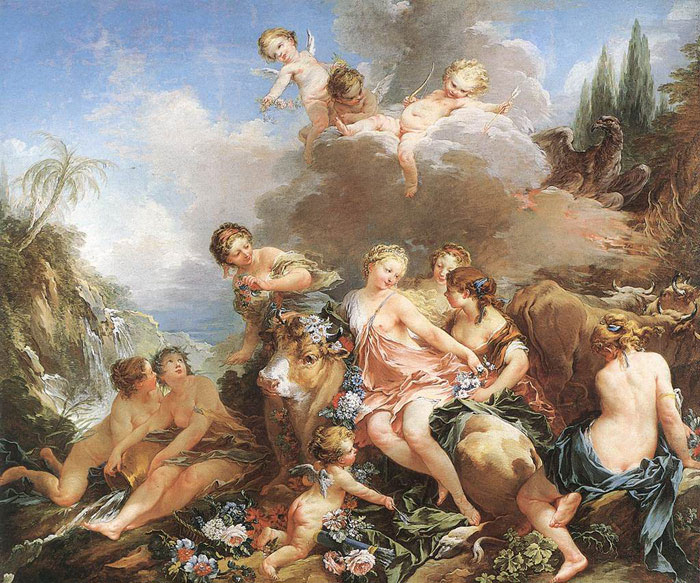 Paintings Boucher, Francois
