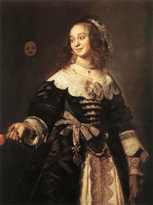 Paintings Reproductions Hals, Frans Isabella Coymans, 1650-1652