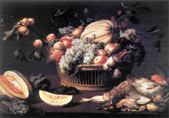 Paintings Reproductions Snyders, Frans Still-Life, 1616