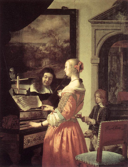 Paintings Frans van Mieris