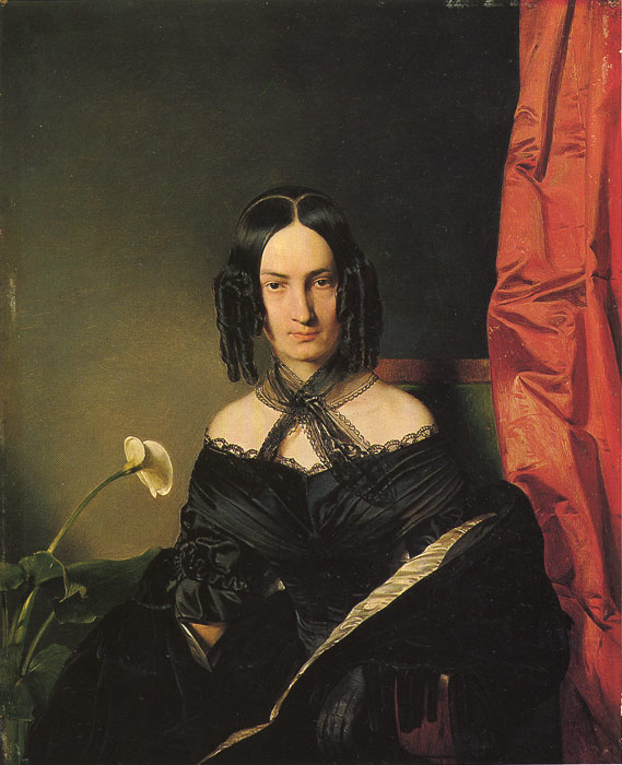 Картины Репродукции EYBL, Франца фрау Nadassy, 1839