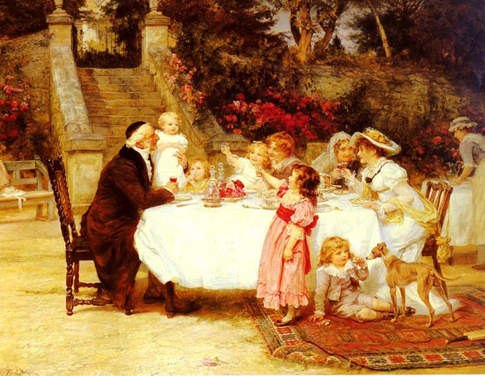 Frederick Morgan Reproductions-His First Birthday