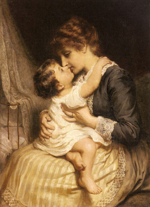 Frederick Morgan Reproductions-Motherly Love