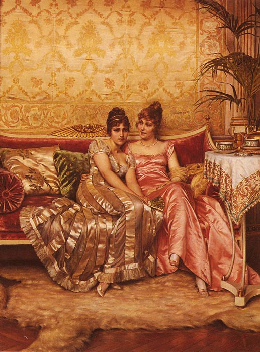 Frederick Soulacroix Reproductions-Confidences