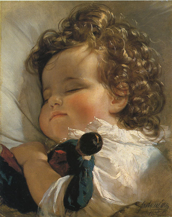 Paintings  Friedrich von Amerling