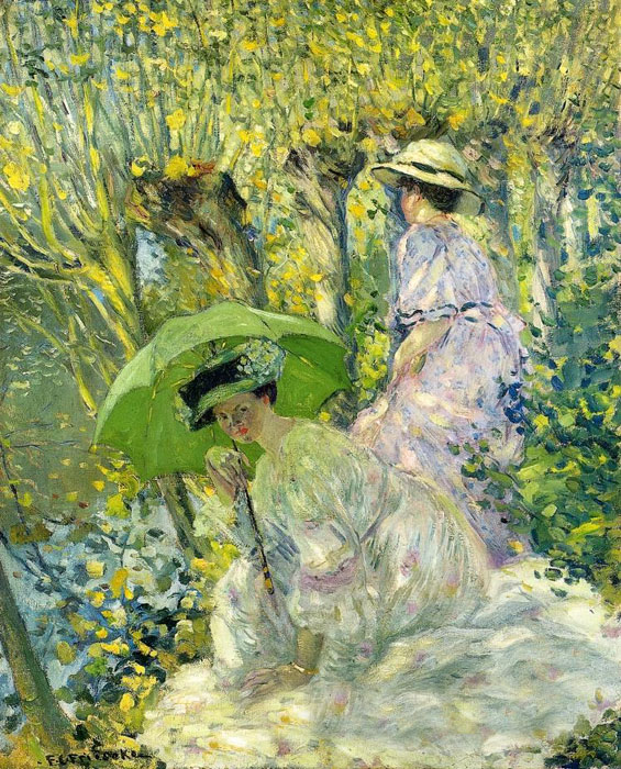 Paintings Carl Frederick Frieseke