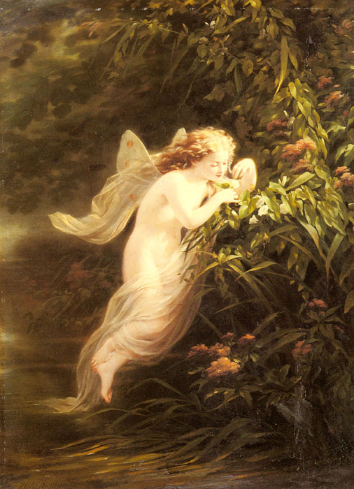 Fritz Zuber-Buhler Reproductions-The spirit of the morning
