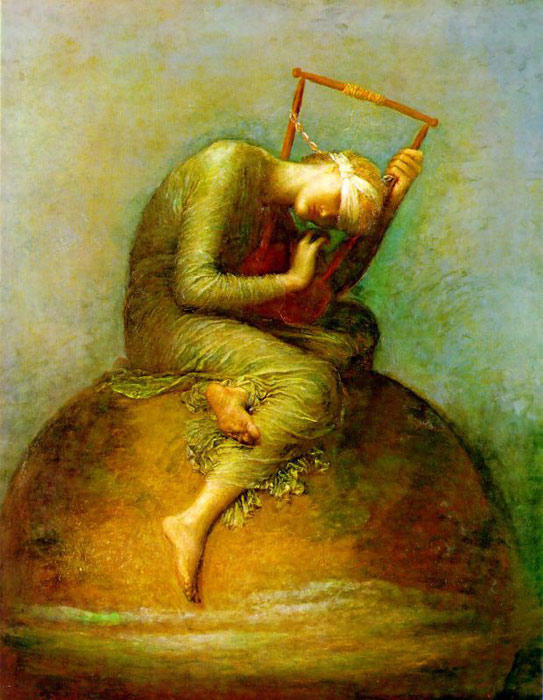 George Frederick Watts Reproductions-Hope