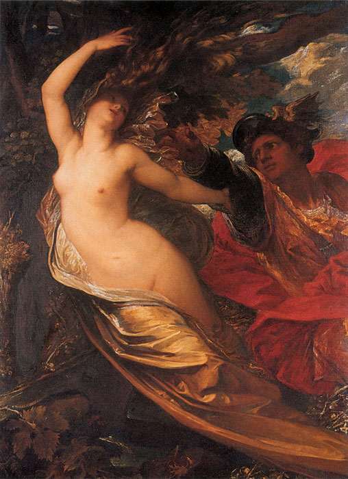 George Frederick Watts Reproductions-Orlando Pursuing the Fata Morgana, 1846-1848