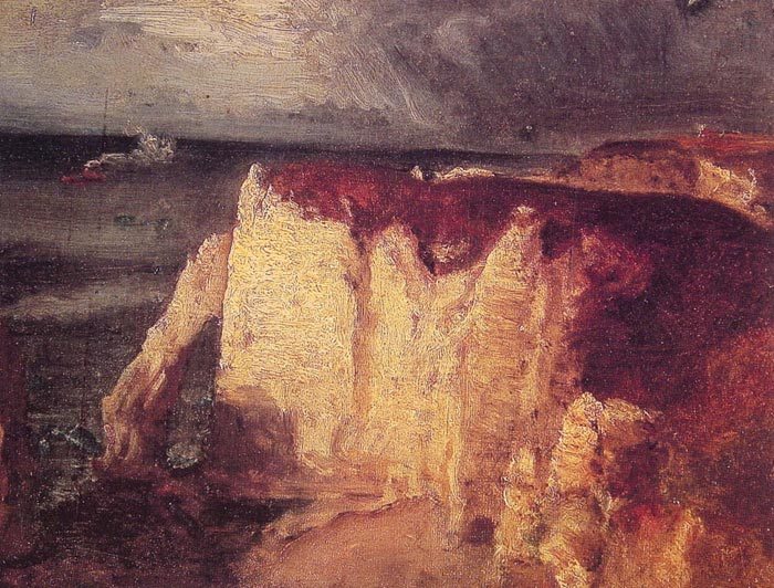 Paintings Reproductions Inness, George Etretat, c.1874
