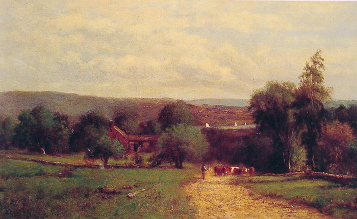 George Inness Reproductions-Spring, 1860