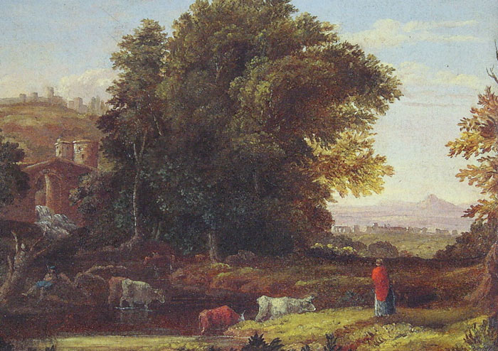 Paintings Reproductions Inness, George Italian Landscape with Adueduct, c.1845-1846
