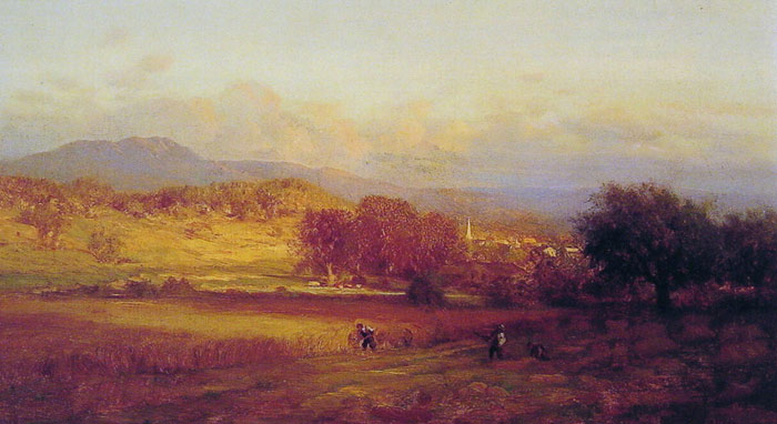 Paintings Reproductions Inness, George Autumn, 1859