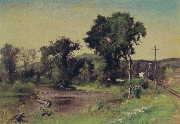 George Inness Reproductions-Pompton Junction