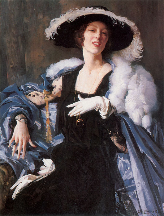 George Lambert Reproductions-The White Glove, 1921