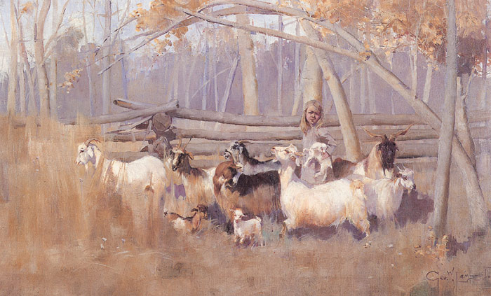 Wildlife oil paintings and paintings with animals 1 for Australian mural artists