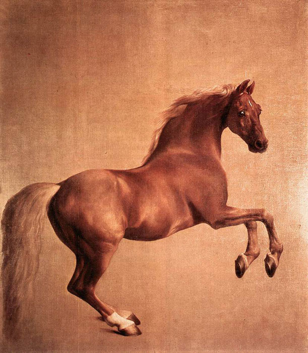 George Stubbs Reproductions-Whistlejacket, 1762