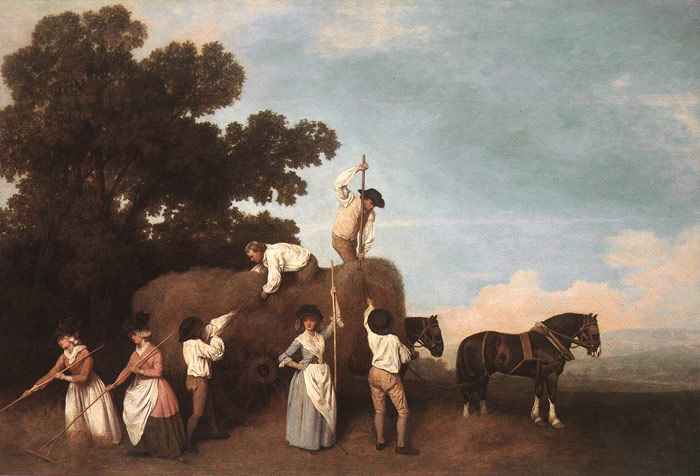 George Stubbs Reproductions-The Haymakers