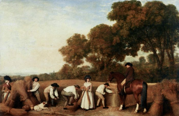 George Stubbs Reproductions-The Harvest, 1785