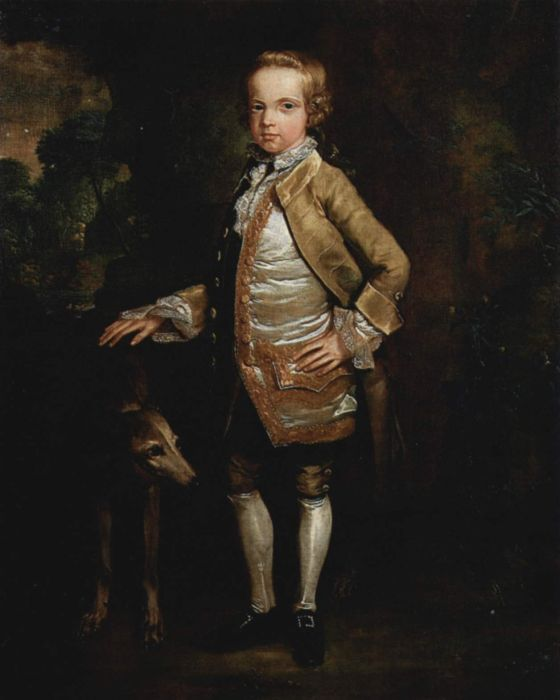 George Stubbs Reproductions-Portrait of John Nelthorpe as a Child, 1765