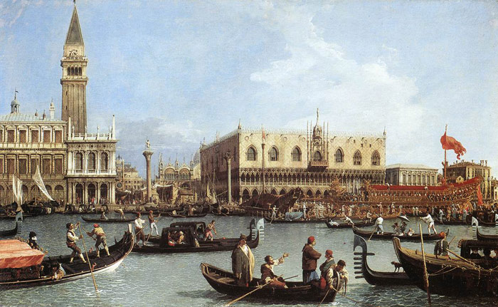 Paintings Canaletto, Giovanni Antonio Canal